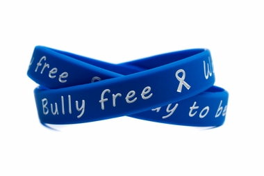 bully-free-way-to-be-blue-and-white-wristband-adult-8-86